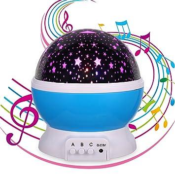 Amazon.com: Regalos de música para niños, luz nocturna de ...