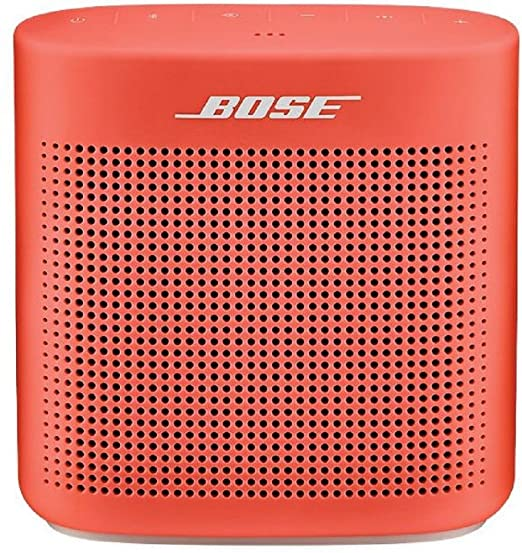 bose bluetooth speakers amazon battery indian price bose soundlink color bluetooth speaker ii coral red amazoncom