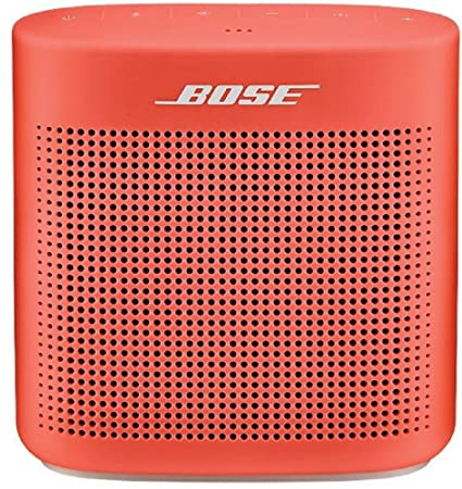 Bose SoundLink Color II 752195-0400 Bluetooth Speakers (Coral Red) Bluetooth Speakers at amazon