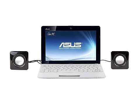 "Mini altavoz USB Altavoces para portátil Asus R700 VJ-TY140H 17,3 """