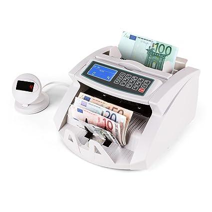 Oneconcept Buffett • Contador de Billetes • Detector de Billetes