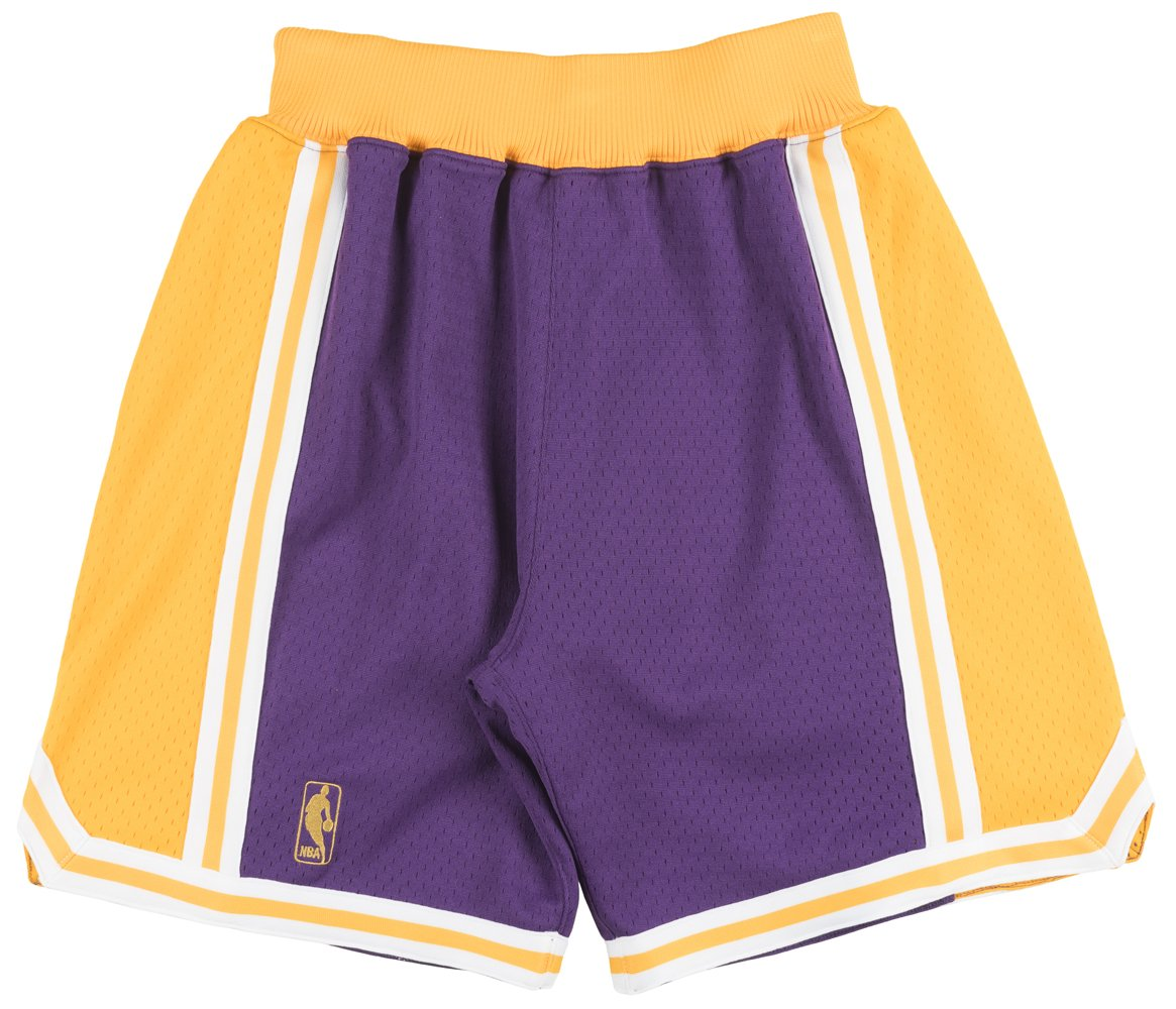 Los Angeles Lakers Mitchell and Ness Authentic Gold 1996-97 Shorts