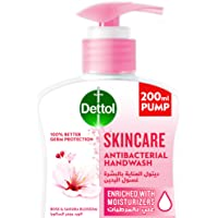 Dettol Skincare Handwash Liquid Soap Pump for effective Germ Protection & Personal Hygiene (protects against 100 illness…