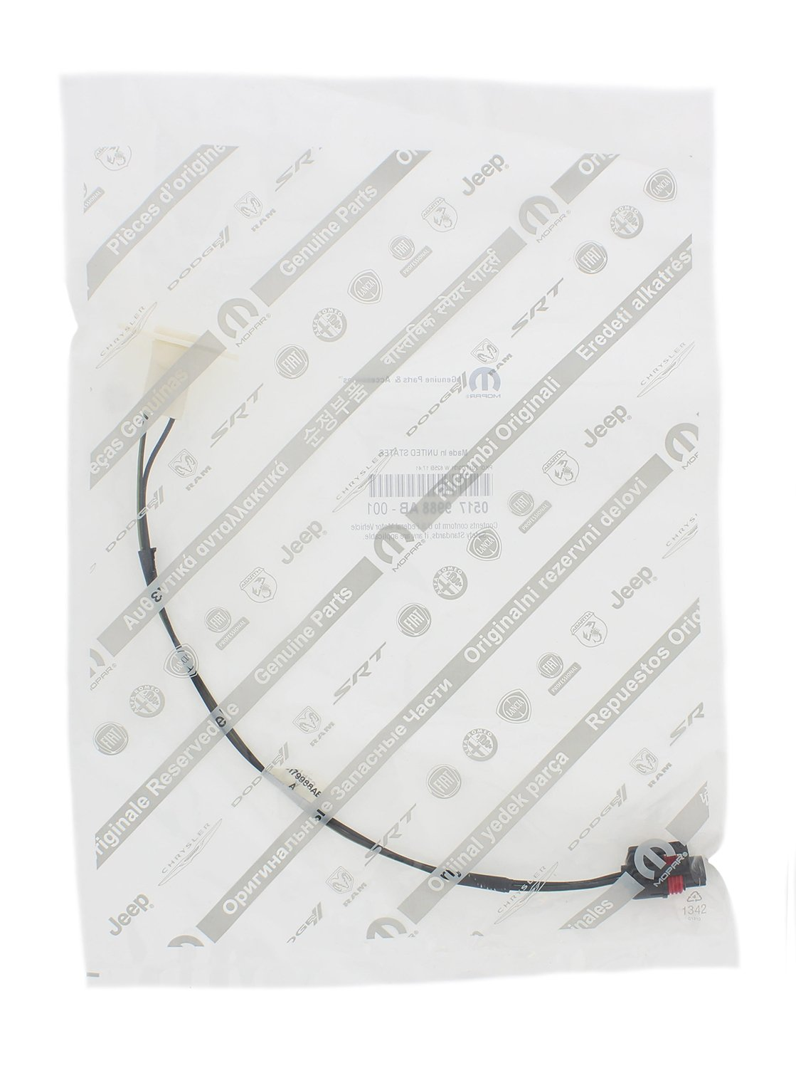 Mopar 5179988ab License Plate Lamp Wiring Automotive 1991 Dodge Dakota Fuse Box Tail Lights