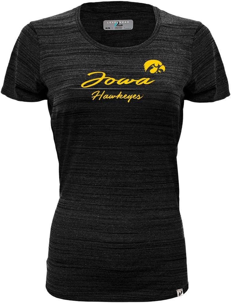 Levelwear NCAA Womens Lux Cursive Short Sleeve Tee