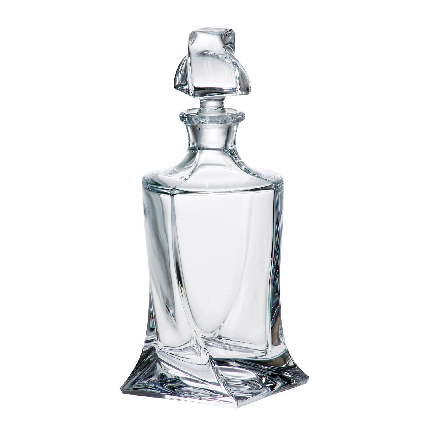 Crystal Wonderland Lead-Free Whiskey Liquor Decanter Calypso, 28.7 oz (850ml)