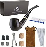 Joyoldelf Wooden Tobacco Smoking Pipe Pear Wood Pipe with Pipe Cleaners 9 mm Pipe  sc 1 st  Amazon.com & Amazon.com: habano757: SMOKERu0027S PRIDE CHERRY CAVENDISH Holds 12 OZ ...