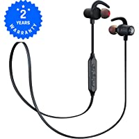 Aliencandy M4- Bluetooth Headphones, Earbuds Sport Wireless headphones bluetooth Aptx with Mic, Bluetooth Earphones with Stereo HD sound, 8 HOURS play time, IPX4 Sweatproof, Secure fit