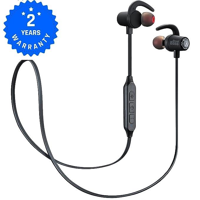 AlienxCandy M4 Auriculares Bluetooth Inalámbricos, Deportivos, IPX4 Impermeable con Micrófono Incorporado: Amazon.es: Electrónica