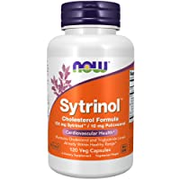 NOW Supplements, Sytrinol, Cholesterol Formula, with 150 mg Sytrinol™ and 10 mg Policosanol, 120 Veg Capsules