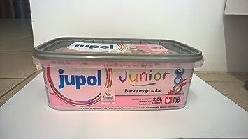 Jupol Junior Wandfarbe Für Innen 2,5l Jubmix, Pink (princess)