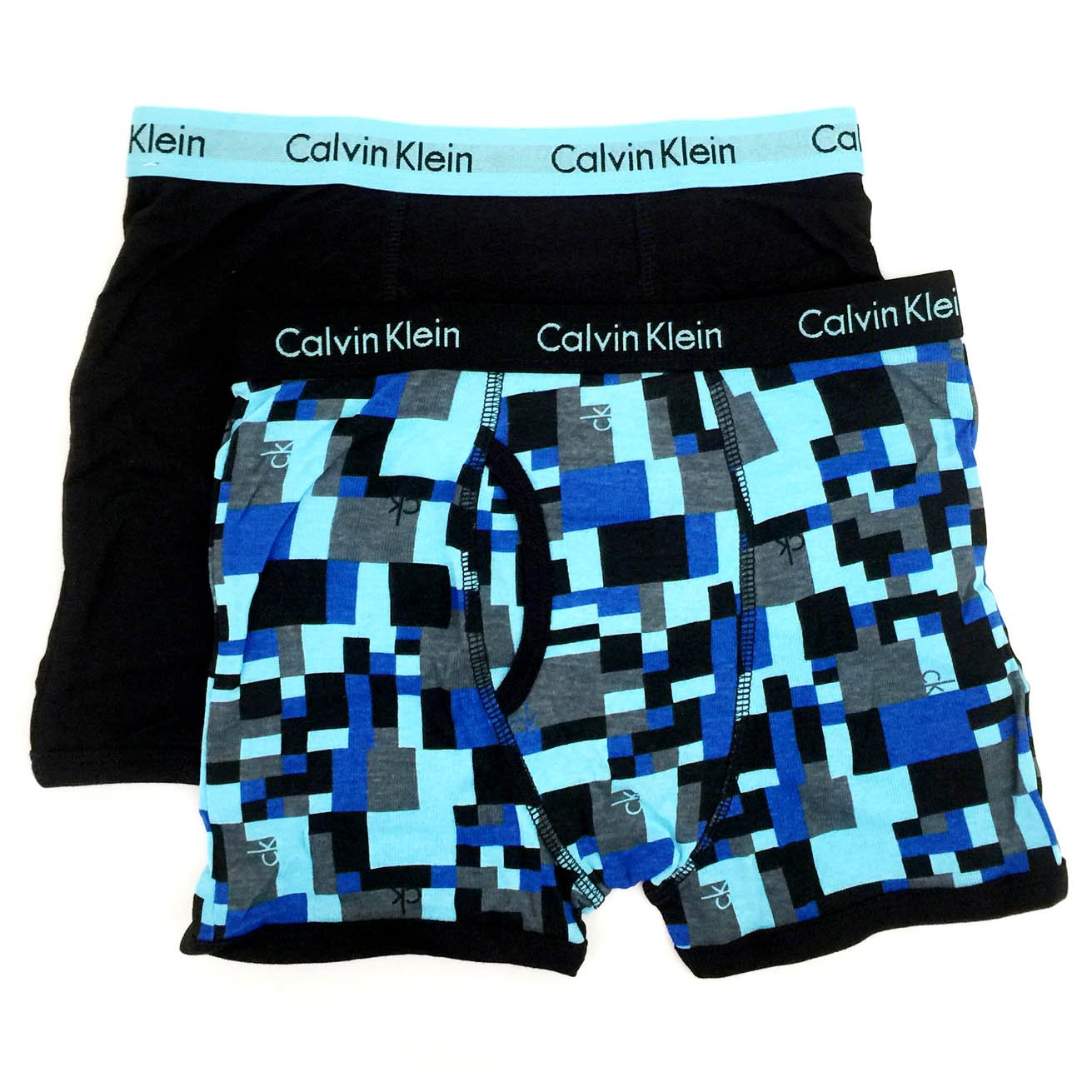 Calvin Klein Little/Big Boys' Assorted Boxer Briefs (Pack of 2) 37D67165