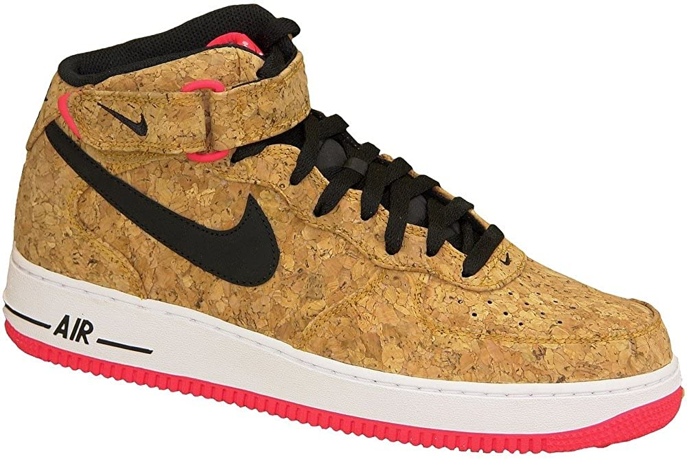 info for 4d69e 5e74d NIKE Air Force 1 Mid 07 Cork Mens Trainer
