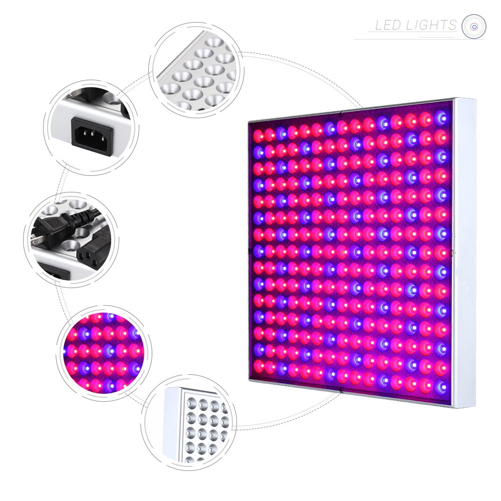 ANNT 45W LED Plant Grow Light Panel Growth Lamp Red Blue Spectrum Hanging Lighting for Hydroponic Aquatic Indoor Plant Growth and Flowering by ANNT (Image #5)