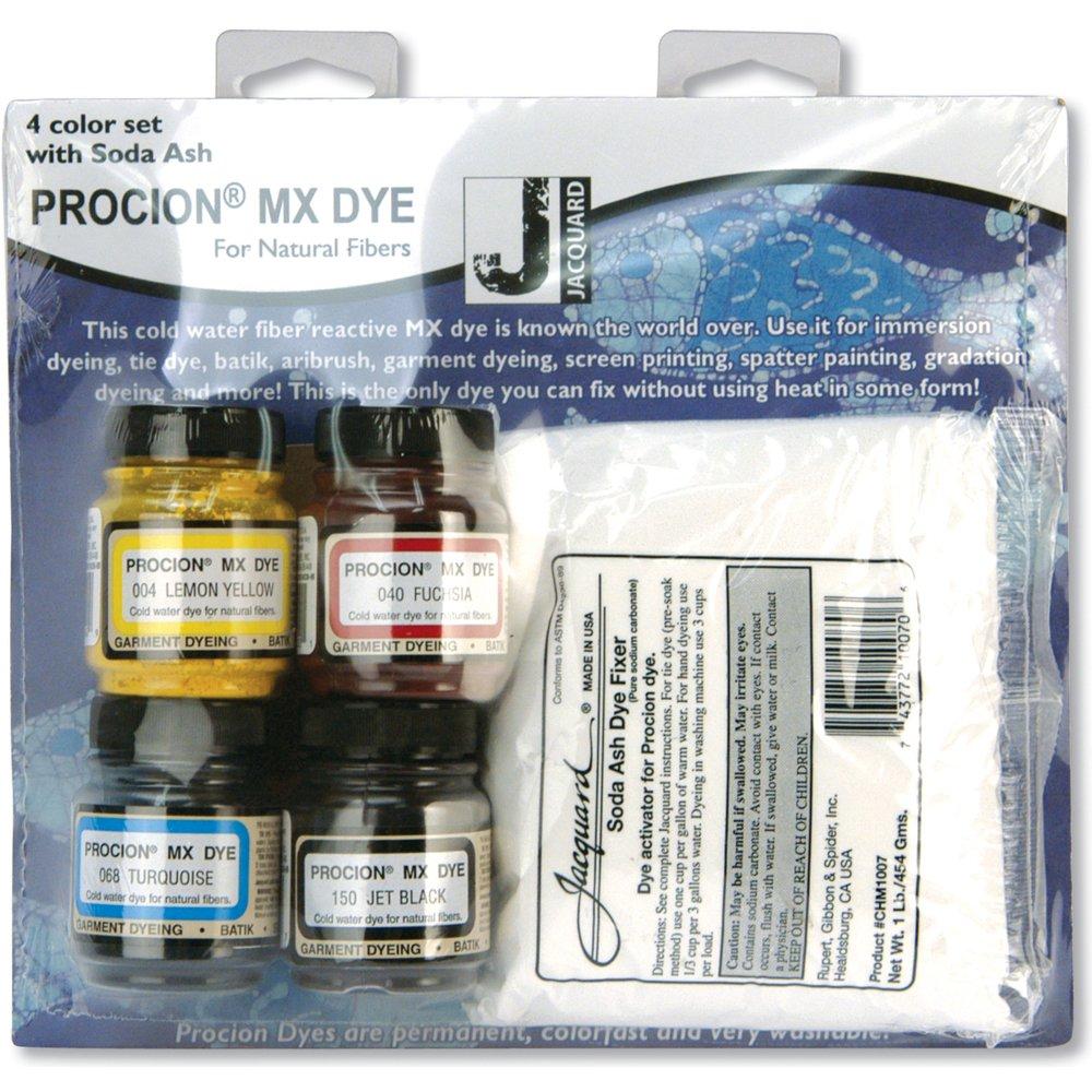 Amazon jacquard products procion four color mx dye set with amazon jacquard products procion four color mx dye set with soda ash nvjuhfo Images