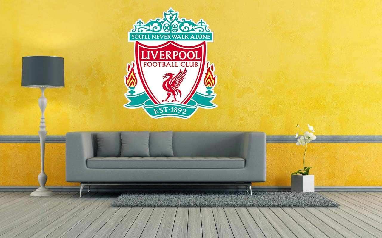 Liverpool Football Club T-shirt You/'ll Never Walk Alone Wall Sticker Decal Print