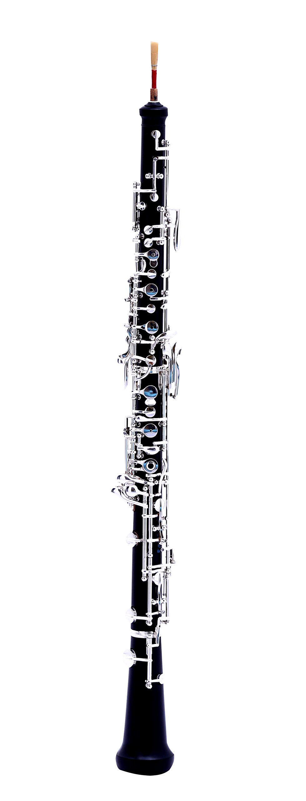MeeLe C Key Oboe with Grenadilla Wood Body Silver Plated Keys
