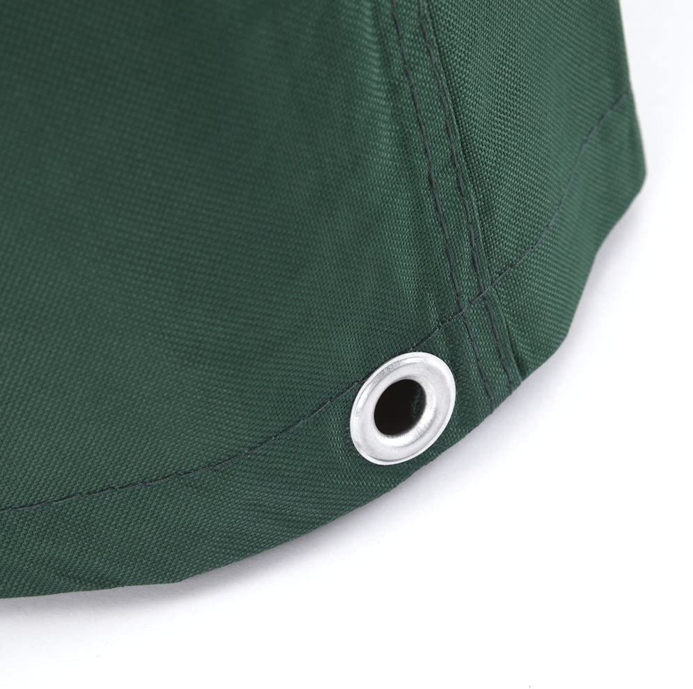 Trueshopping Green Heavy Duty Bagnino Completamente Impermeabile Esterno Meteo PVC di Copertura per mobili da Giardino//poltrone Adirondack Sedia Realizzata in Poliestere 800/mm x 1000/mm x 520//960/mm