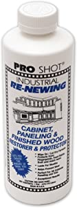 PRO SHOT Industrial Re-Newing Cabinet Paneling and Finished Wood Restorer and Protector