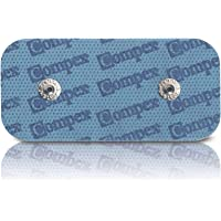 Compex Unisex Adult Electrodes Easysnap Performance Gym Kit - Blauw