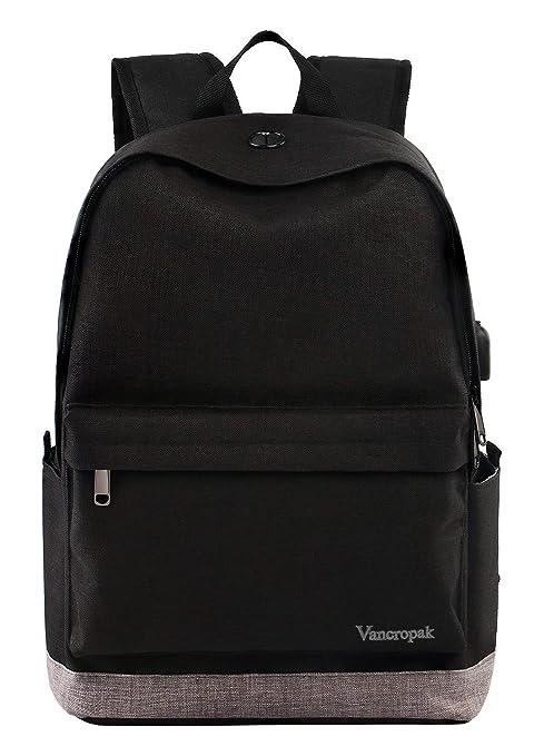 3e17fe58cd7 Student Backpack, Laptop Commuter Backpack for Men Women, Travel College  Bookbag Back Bag with