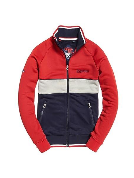 Superdry M20068PP Chaqueta Hombre Rojo XS