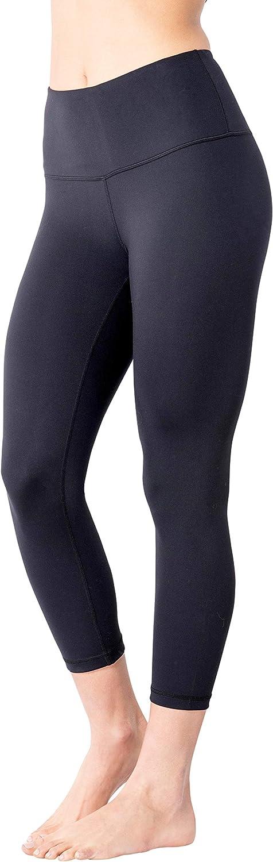High Rise Yoga Pants Yogalicious High Waist Ultra Soft Lightweight Capris