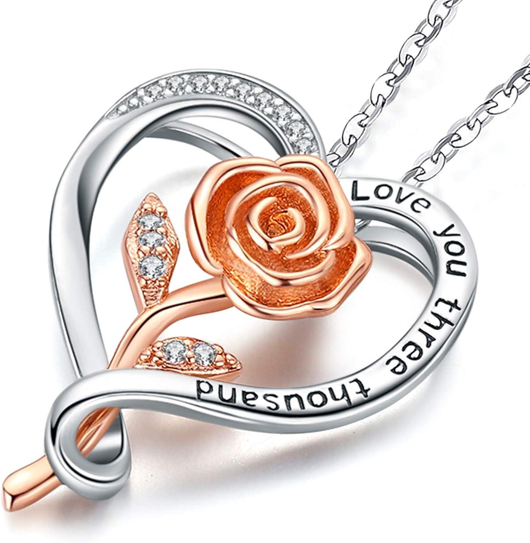 Amour Bijoux Pour Femme Petite Amie Friggem Collier En Argent Pour Les Femmes Pendentif Coeur
