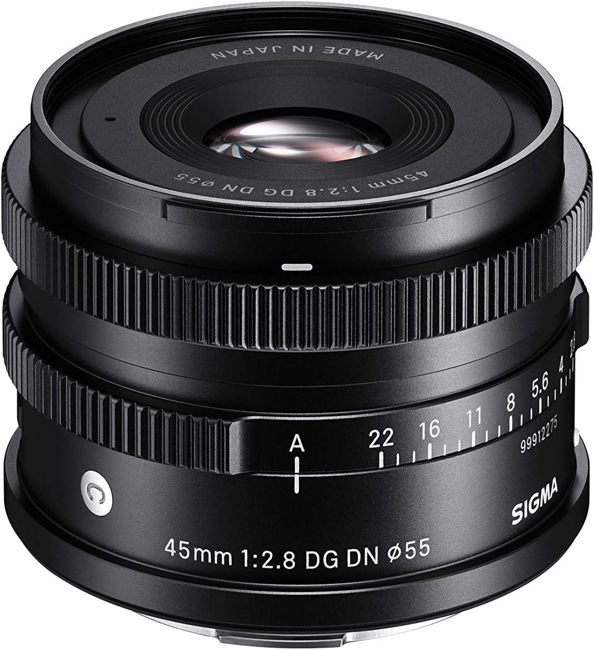 Sigma 45mm F2 8 Dg Dn Contemporary Objektiv Für Sony E Elektronik