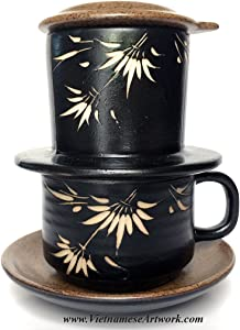 Ceramic Coffee Maker - Hand made ceramic set for Making Vietnamese Coffee