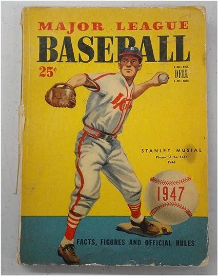 5 1947 1948 1950 1953 Vintage Baseball Books Stanstanley