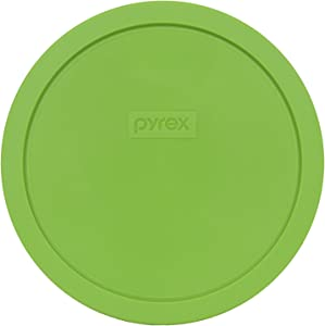 Pyrex 7402-PC Round 6/7 Cup Storage Lid for Glass Bowls (1, Green)