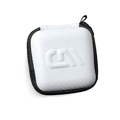 CASEMATIX White Kids Toy Case Compatible with Tamagotchi On Interactive Virtual Pet Game , Includes Case Only: Toys & Games