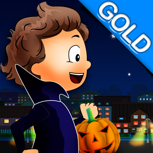 Trick or Treat : The Halloween Night Out for Candies - Gold (Gold Extreme Chocolates)
