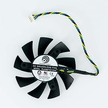 Amazon.com: puuli Power Logic DC Brushless Ventilador ...