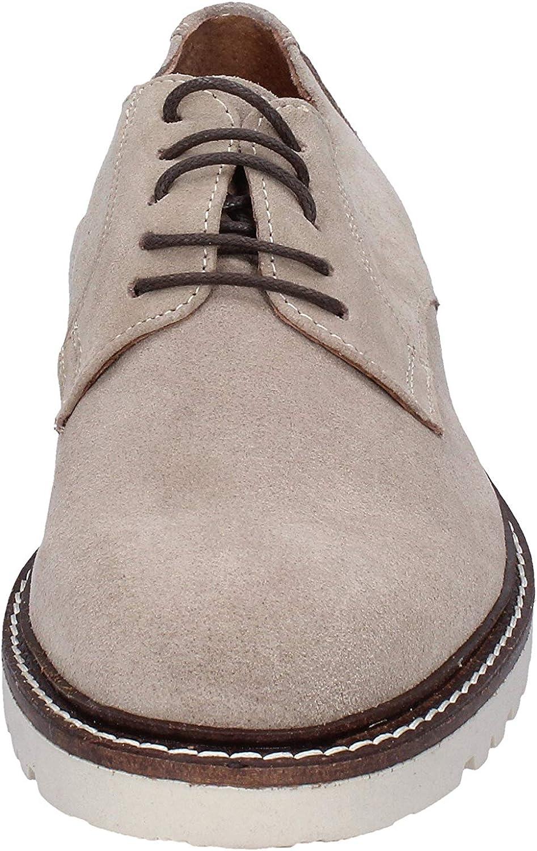 RUE 51 Oxfords-Shoes Mens Suede Beige
