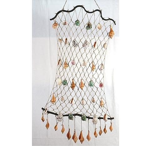 Art Craft Deko Fischernetz Mit Ca 40 Stücken Von Tropischen