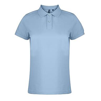 Asquith & Fox Womens Polo, Azul (Sky 000), 36 (Talla del ...