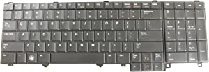 Dell OEM F5YDT Black Keyboard Latitude E5520