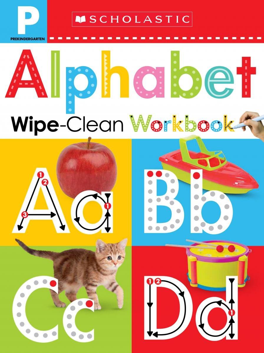 Wipe-Clean Workbook: Pre-K Alphabet (Scholastic Early Learners) pdf