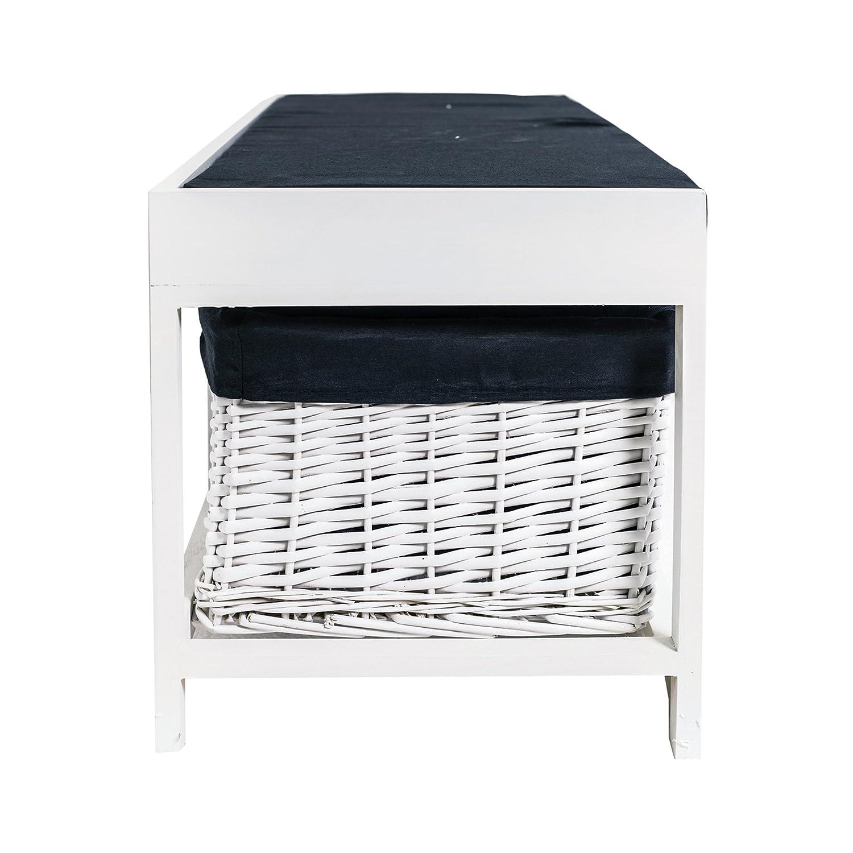 Rebecca SRL asiento banco de almacenamiento armario 1 acolchado ...