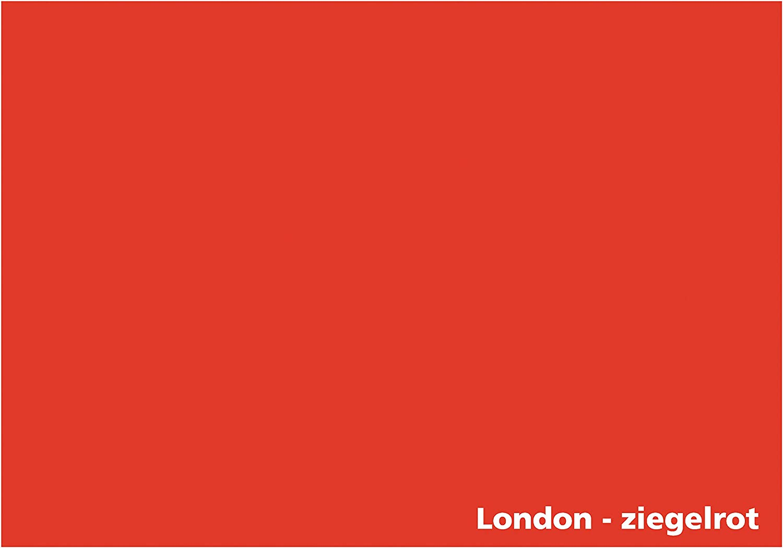 Tonpapier Tonkarton 100 Blatt DIN A4-160g//m/² Farbe: Amsterdame-Orange 22339 Tonzeichenpapier