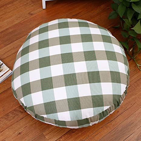 Amazon.com: FRI Thick Round Cushion,Office Cotton Bay Window ...