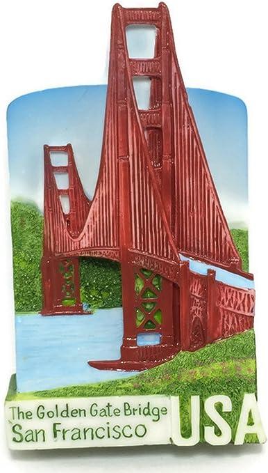 Lombard St.San Francisco USA High Quality Resin 3D fridge Refrigerator Thai Magnet Hand Made Craft.
