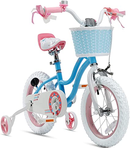 Boys /& Girls Bike With Training Wheels US Children/'s Kids Bicycle 12Inch Wheels
