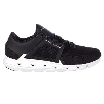Porsche Design Easy Trainer 5 Training Sneaker Athletic Gym Shoe - Black/ White - Mens