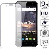 Guran® Schermo Protector Vetro Temperato per Nomu S30 Smartphone Ultra Sottile Screen Protector Film