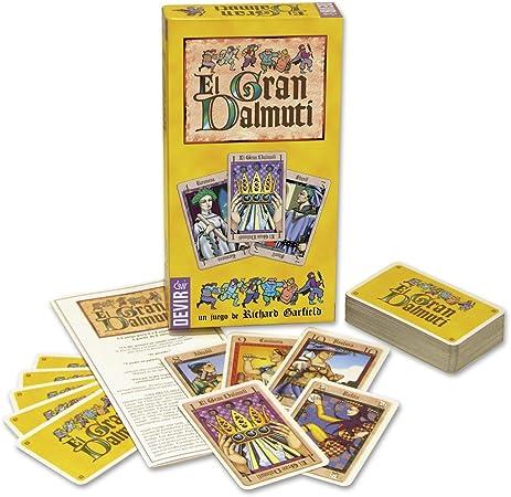 Devir - El Gran Dalmuti, Juego de Mesa (BGDALMUTI): Amazon.es: Juguetes y juegos