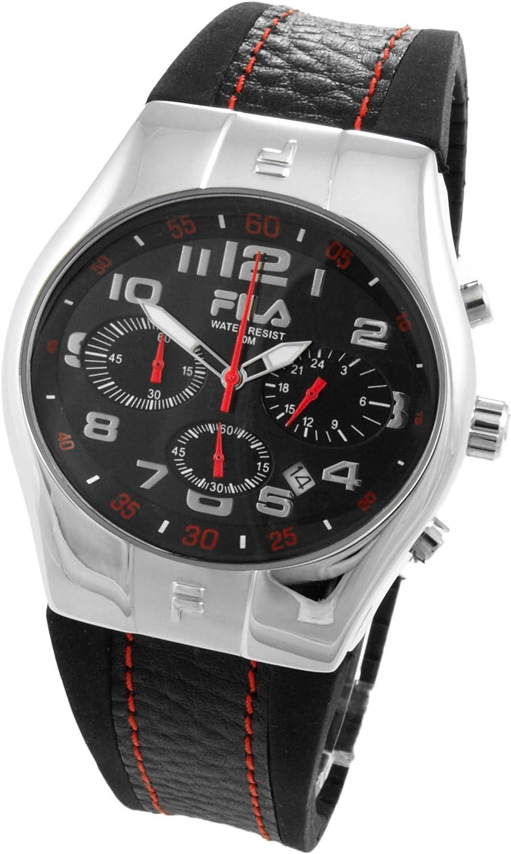 Fila Reloj analógico para Hombre de Cuarzo con Correa en Caucho 732327