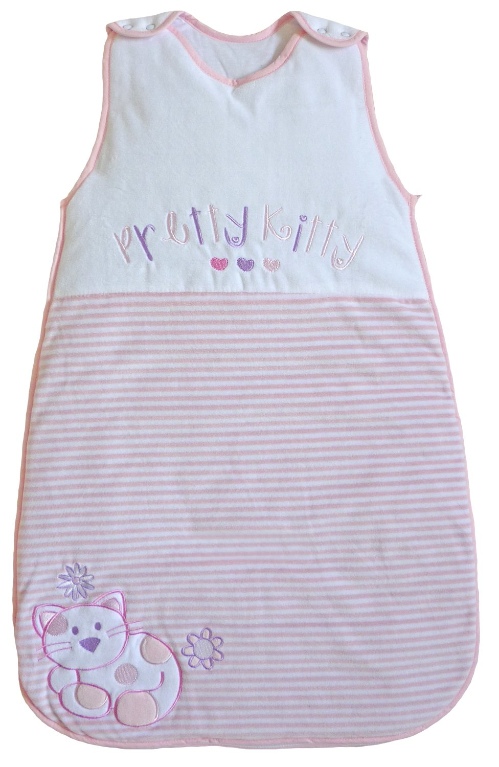 LIMITED TIME OFFER! The Dream Bag Baby Sleeping Bag Pretty Kitty Velour 0-6 months 2.5 TOG by The Dream Bag   B005UM7HLI